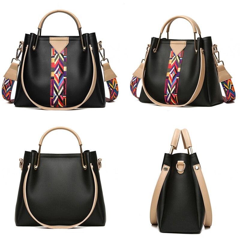 Gorden Yi De Vintage Colorful Strap Design Shou der Bag Women Summer Female Messenger bag High Quality Solid Ladies Flap Bags 3