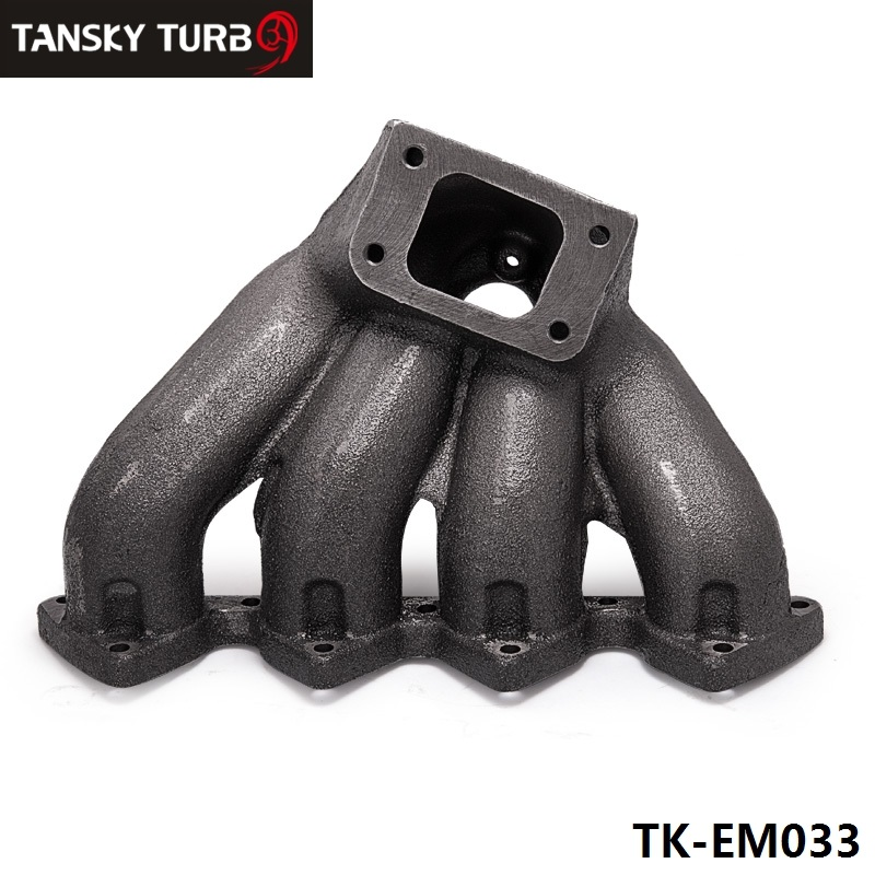 Tansky T Top Mount Cast Iron Turbo Font B Manifold B Font With Mm Wastegate Port