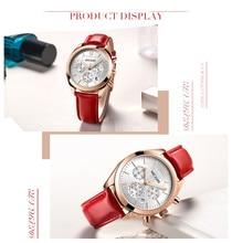 MEGIR Watch Women Top Brand Luxury Chronograph Date Female Clock Classic Fashion Quartz Lady Wristwatch relogio feminino 2115