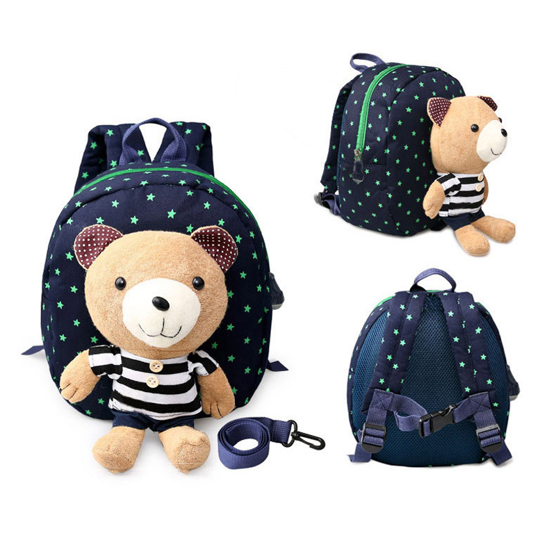 Cyjmydch Mick Baby Harnesses Leashes Walking Anti-lost Bag Safety Activity & Gear Children Plush Backpack School Bags Mother & Kids