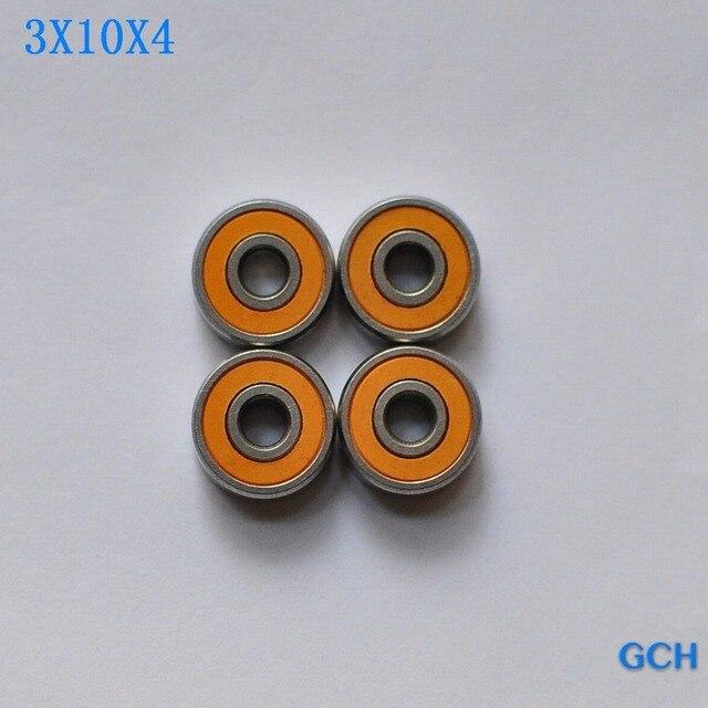 Бесплатная доставка 4 шт. 3x10x4 SMR103C 2OS ABEC7 гибридная керамическая Рыболовная катушка подшипники