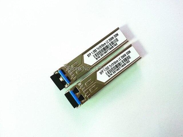Бесплатная Отправка 10 шт./лот Волоконно-Оптические Трансиверы SFP 1000BASE-LX SFP MINI-GBIC модули Совместимы для CISCO glc-lh-sm