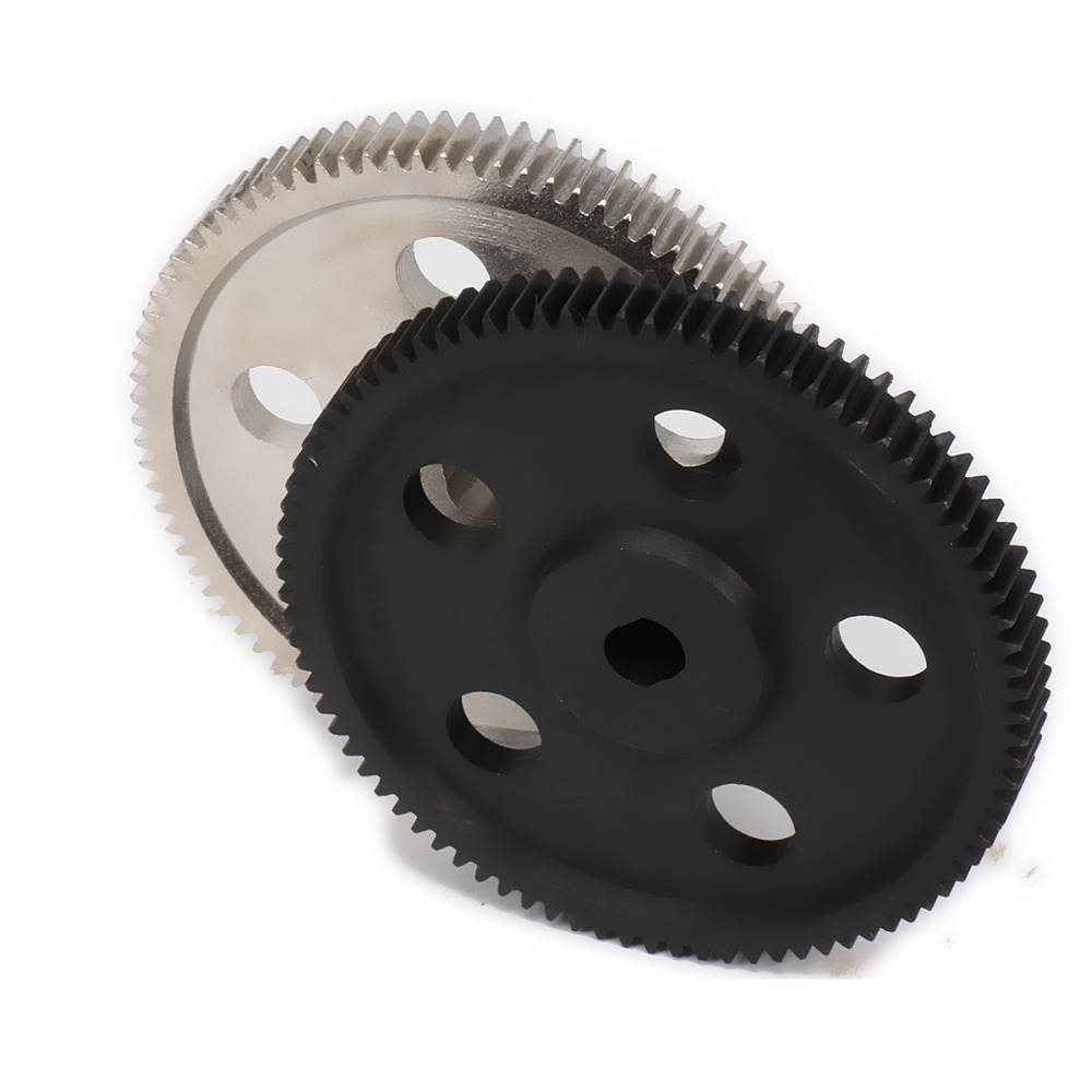 87T metal reducer/reduction /differential main gear(18024-1) for rc car 1:10 hsp hispeed 94180 crawler upgraded Hop-up parts free shipping hsp 1 10 speed reduction gear set differential gear box 02126 spare parts fit for 94101 1 10 rc car