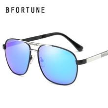 BFORTUNE Moda Vintage gafas de Sol Polarizadas de Recubrimiento Hombres de Marca Retro Gafas de Sol de Conducción Espejo Gafas de Sol Gafas Masculino