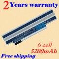 JIGU Laptop Battery for Acer UM09H31 UM09H41 UM09G31 UM09G75 Aspire One 532H series AO532h-2Ds AO532h-21s White 6Cell