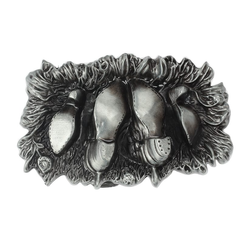 Shoes Modelling Metal Belt Buckle