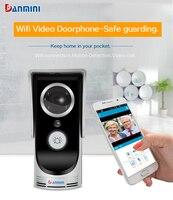 DANMINI Wireless Doorbell HD 720P WIFI Video Doorbell Night Vision Two Way Audio Wifi Door Video