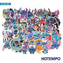 50pcs Cartoon Cute Lovely Stitch Stickers Scrapbooking Creative DIY Children Letter Diary Pegatinas Sticker