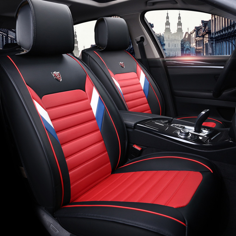 New PU Leather Auto Universal Car Seat Covers for Nissan almera classic g15 n16 bluebird cefiro leaf primera cushion covers