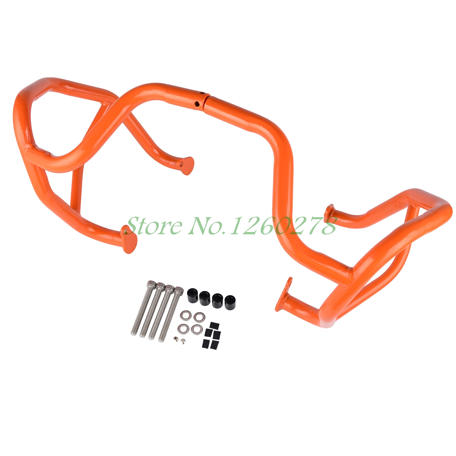 Motorcycle Crash Bar Frame Engine Protection Guard Bumper For KTM 1190 Adventure/ R 2013 2014 2015 2016 high quality for bmw r1200gs 2013 2014 2015 motorcycle upper engine guard highway crash bar protector silver