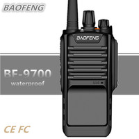 BAOFENG BF 9700 Walkie Talkie 8W 2800MAH UHF IP67 Waterproof Portable Two Way Radio Amateur HF Transceiver UV 9R Woki Toki