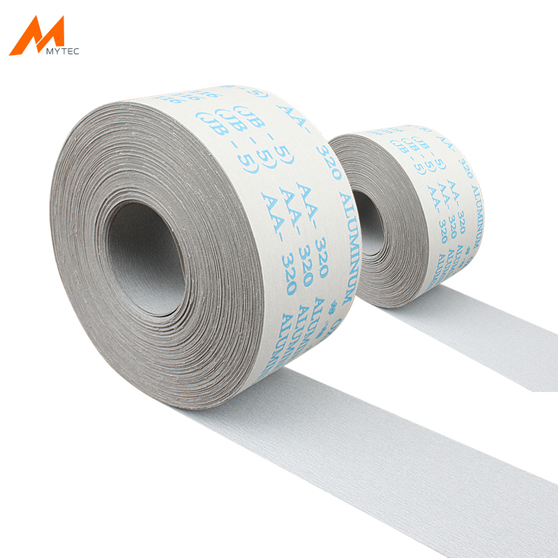 1M Abrasive Roll Emery Cloth 120 To 600 Grit Aluminum Oxide Width 100MM Tear-Off Sandpaper For Wood Metal Grinding Sanding