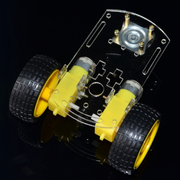 mart car chassis Tracing car The robot car chassis With code disc  tachometer for Arduino