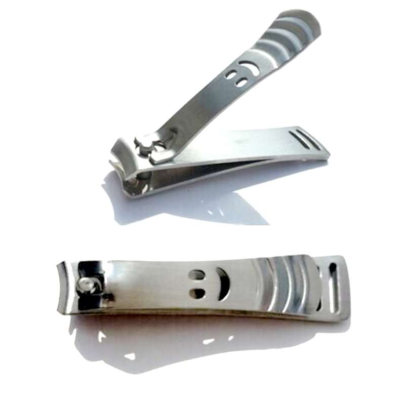 Smiley Nail Clippers High-grade Stainless Steel Sanding Trumpet Cute Nail Clippers Cutter Tools Nail Trimmers For Dropshipping