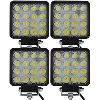 4pcs 48w Led Working Lamp Led Worklight Led Work Light Cree For Boats Truck Tractor Led
