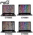 Msq profesional permanente 88 colores de sombra de ojos paleta de maquillaje mate shimmer metálico luminoso de belleza 4 de la paleta se puede elegir