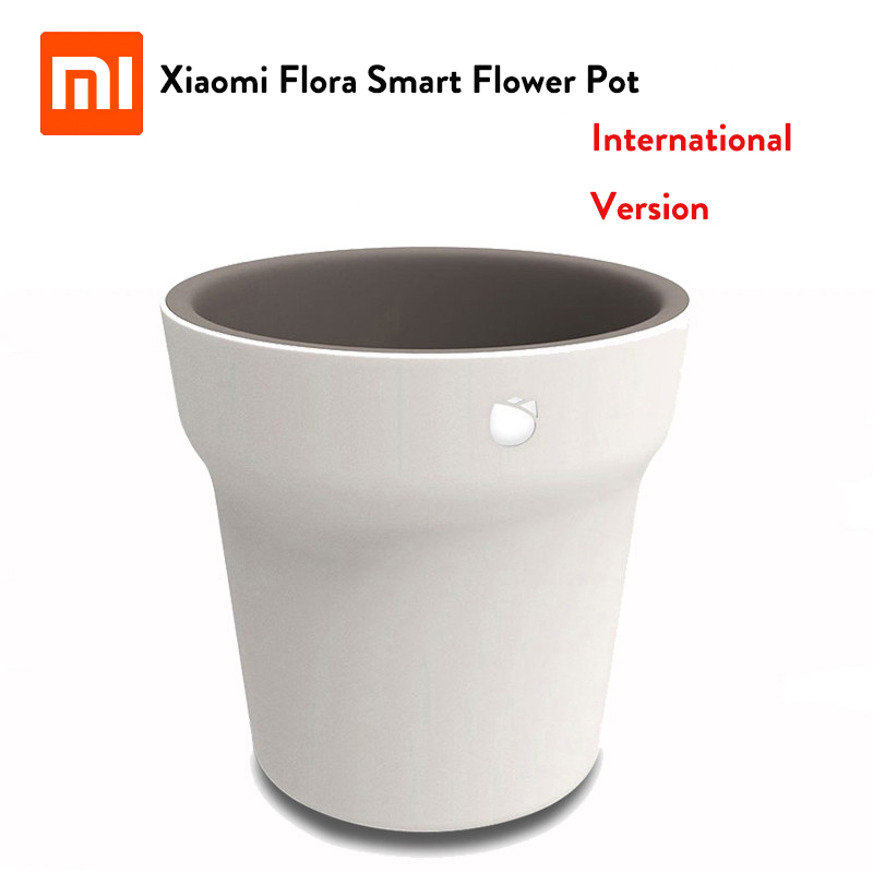все цены на Xiaomi Flora Monitor or Flora Smart Flower Pot Digital Plants Grass Flower Care Soil Water Light Smart Tester Sensor