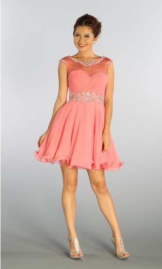Party, Shipping, Prom, Gowns, Formal, Short