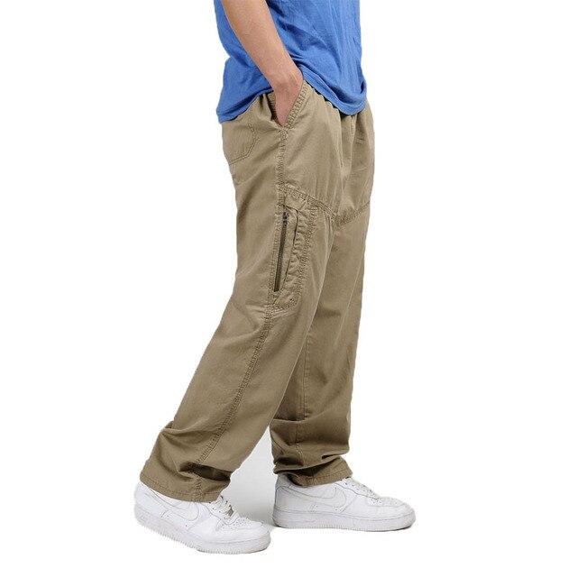 Mens Tactical Pants Overalls Work Cargo Pants Jogger Pantalones Sweatpants Loose Baggy Trousers Plus Size 4xl 5xl 6xl