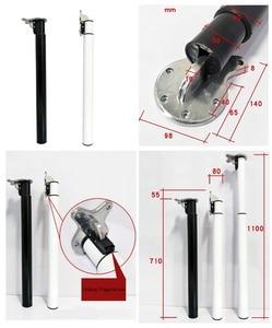 Image 1 - Barra de H71 110CM plegable, ajustable en altura, para escritorio, pata superior, RV