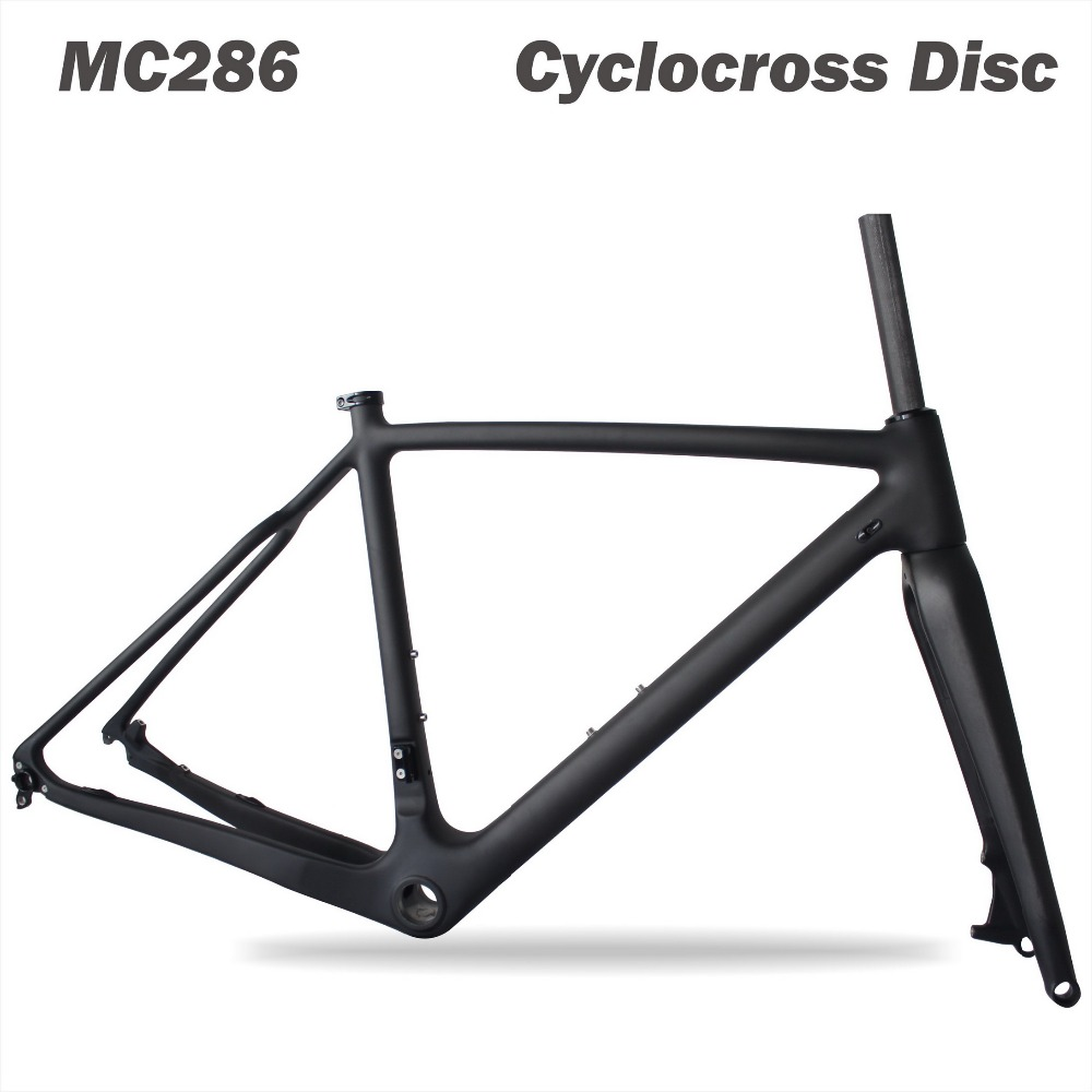 Tapered Tube 2019 Carbon Cyclocross Frame Disc Di2,Chinese Carbon Frames 31.6mm CX Carbon Cyclocross Frame MC286
