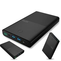 130000mAh Power Bank Dual USB External Light weight PowerBank compact size Battery Charger for General Laptops Notebooks