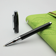 High Quality Metal Ballpoint Pen Black 0.7mm Luxury Roller Pens For Business Gifts Writing Office School Supplies Stationery цены онлайн