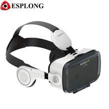 Горячие продажи Xiaozhai BOBOVR Z4 3D VR стекла Виртуальной Реальности гарнитура 3D Частный Театр с Наушников Для 4.0-6.0 дюймов смартфон