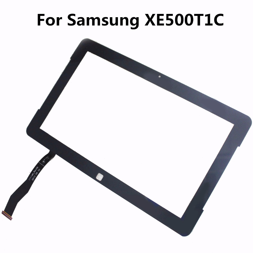 Original New 11.6'' LCD Touch Screen Glass Lens Digitizer Replacement Repair Parts for Samsung XE500T1C Panel Tablet Blue White touch screen glass panel for mt508tv 5wv repair new