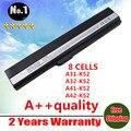 [ Preço especial ] 8 células bateria para Asus A52 A52J K42 K42F K52F K52J A31-K52 A32-K52 A41-K52 , frete grátis