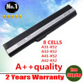 [Special Price] new 8 cells laptop battery for Asus A52 A52J K42 K42F K52F K52J  A31-K52 A32-K52 A41-K52 A42-K52 free shipping