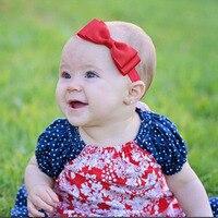 Wholesale Ribbon Fishtail Bow Elastics Baby Headbands Hair Accessory Girls Headbands Toddler Hair Bands 900 Pcs