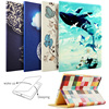 Case For IPad Air Air2 For New IPad 9 7 Inch 2017 ZVRUA Painting Series With
