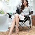 Alta calidad moderna de ocio al aire libre silla plegable pabellón respaldo silla de playa portátil silla de publicidad