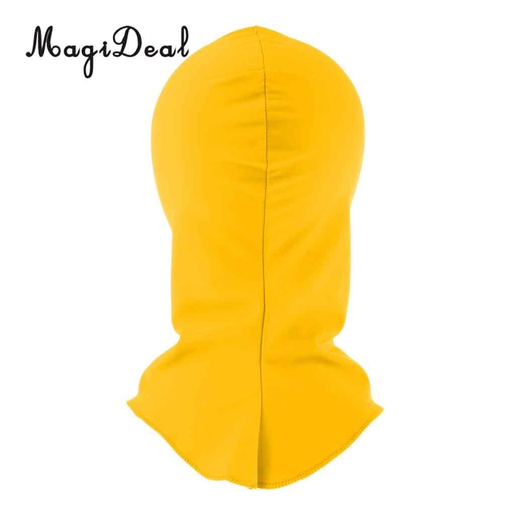 MagiDeal أزياء بركة رئيس Sunblock الشمس فوق البنفسجية حماية الوجه قناع قبعة السباحة ل تصفح الغوص الغوص Spearfishing الرياضات المائية