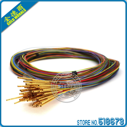 100pcs/lot R50-2W7 Length 17.5mm Spring Test Probes Receptacle Pre-wired Free Shipping