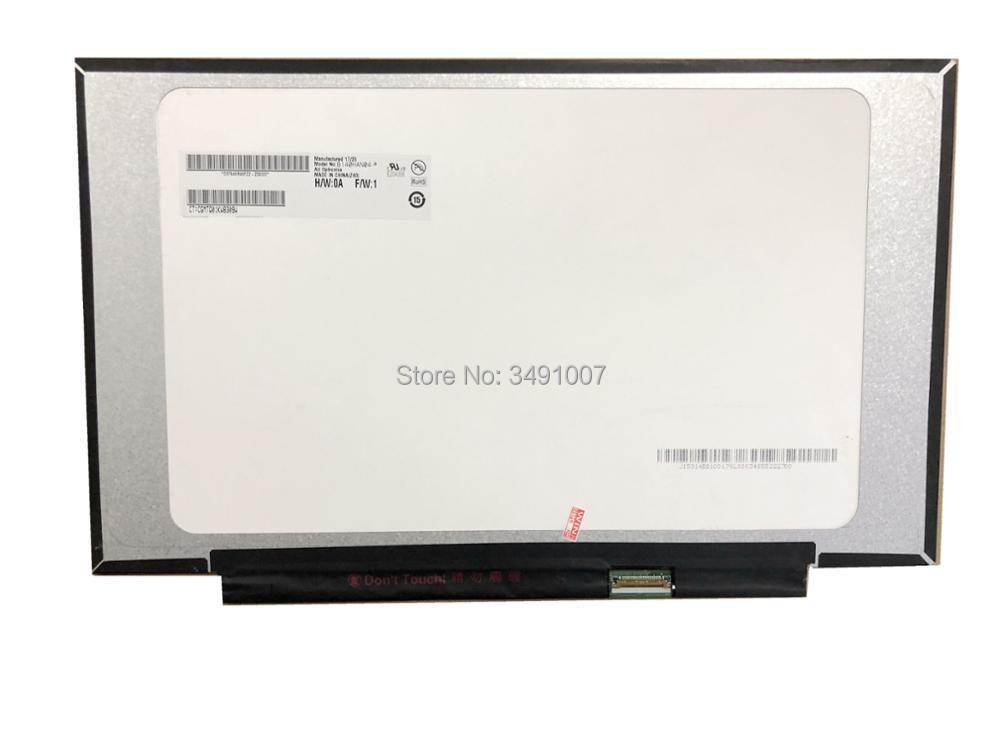 LCD LED B140HAN04.0 fit N140HCA-EAC NV140FHM-N62 N61 LCD LED Ekran 1920*1080 30 PIN YENI IPS