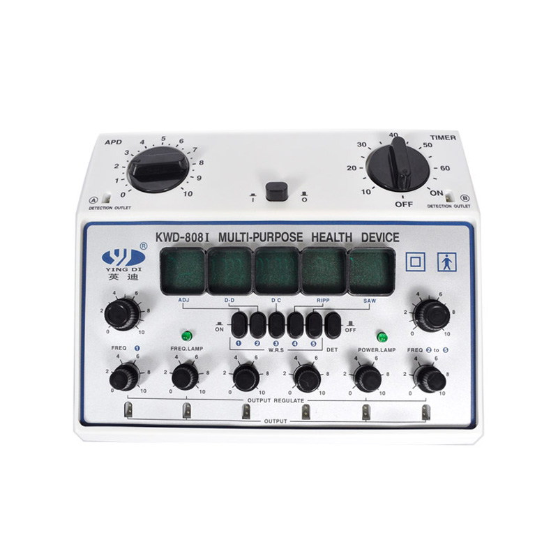 Image 2 - KWD 808 I pulse frequency instrument, Multi Purpose Health Care, Acupuncture Detect Acupoints 6 Channels Output Patch Massager-in Massage & Relaxation from Beauty & Health