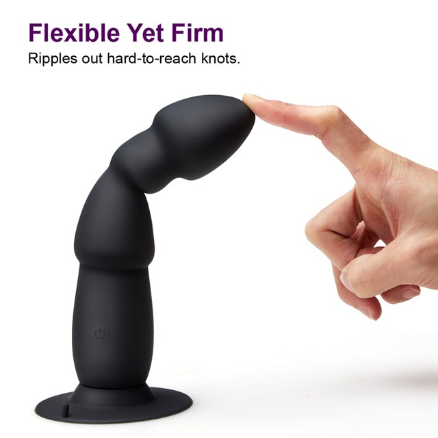 Anal Plug Vibrator with wireless remote control flexible