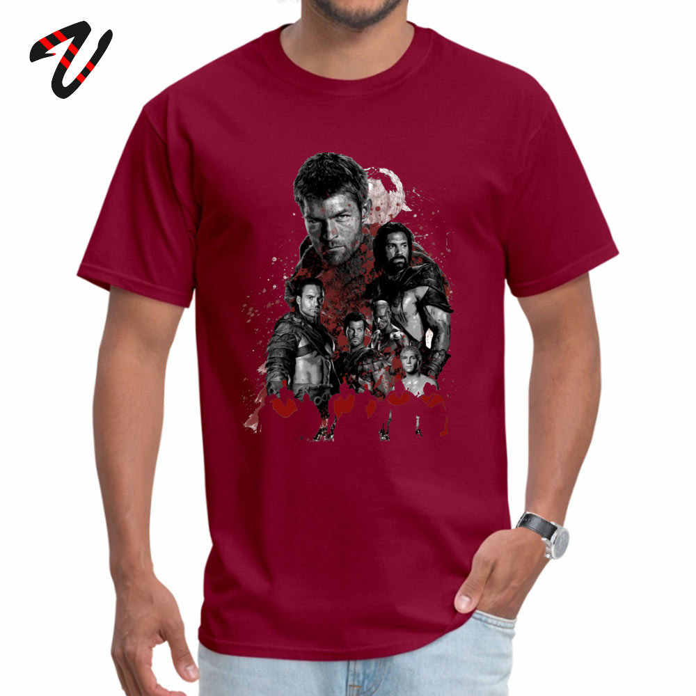 Camisa Lustige Aprilscherz TAG Spartan Männer T Shirt Tops & Tees Spezielle Spartacus rebel führer T-shirt Kurzarm Rap t-shirts