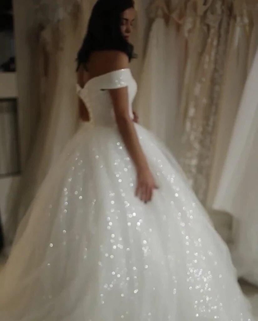 Simple A-line Empire Ivory V-Neck Custom-Made Wedding Dress 2019 Beading Crystals Vestido De Novia Corto