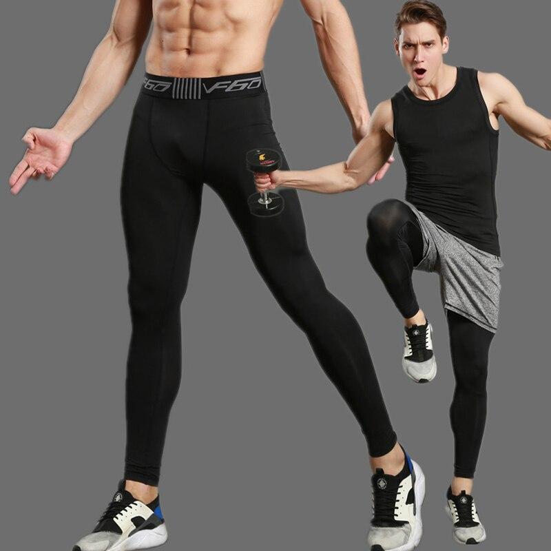2017 Kompresse Gymming Leggings Männer Fitness Workout Leggings Sommer Dünne Fitness Männlichen Lange Hosen Auswahlmaterialien