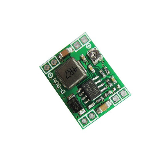 5 pcs Ultra-Small Size DC-DC Step Down Power Supply Module 3A Adjustable Buck Converter for Arduino Replace LM2596