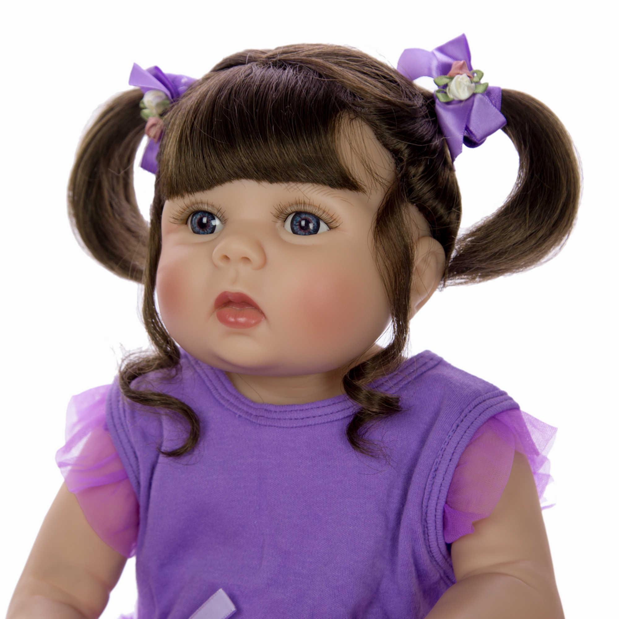 KEIUMI, новый дизайн, 57 см, кукла для новорожденных, для девочек, силиконовая, Реалистичная, для тела, для детей, подарок на день рождения, модный подарок