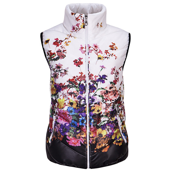 New-2016-Fashion-Winter-Vest-Women-Cotton-Down-O-Neck-Printed-Flowers-Women-Jacket-Vest-Coat (1)