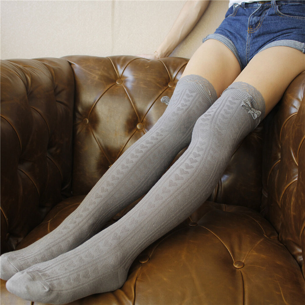 Women Socks Stockings Warm Thigh High Over The Knee Socks Long Cotton Stockings Medias Sexy Stockings Medias De Mujer Meia Arras