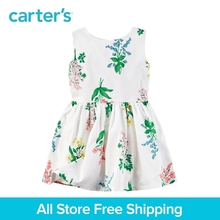 Carter's 1pcs baby children kids Sateen Floral Dress 251G336,sold by Carter's China official store