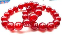 6 PCS Bijoux Exquis Bijoux Asiatique 14mm Rouge e Bracelet(China)