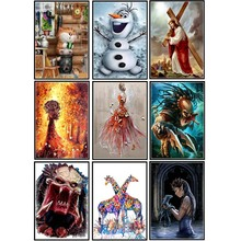 All-round religion and characters 5D diamond embroidery Diy  painting cross stitch set decoration home