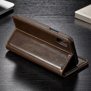 Image 3 - Funda de cuero con tapa para iPhone 5, 5S, SE, 6, 7, 8 Plus, billetera magnética para tarjetas, 11 Pro, Max, X, XR, XS, Max